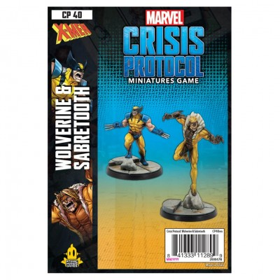 Marvel CP: Wolverine and Sabertooth Pack