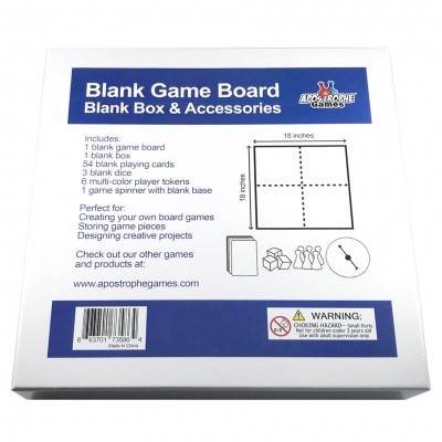 "Blank: GB: Box and Acc 9.5""x9.5"""
