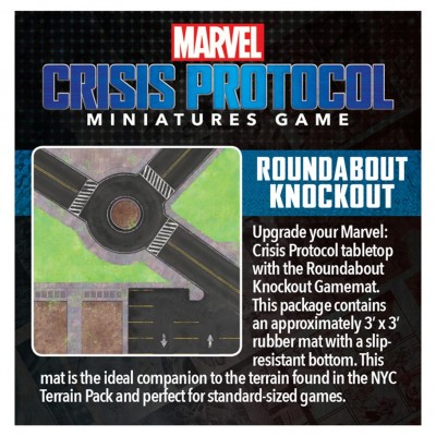 Marvel CP: Roundabout Knockout Game Mat