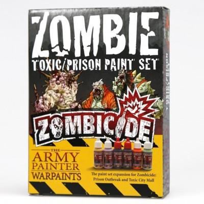 Warpaints: Zombicide Toxic-Prison Set