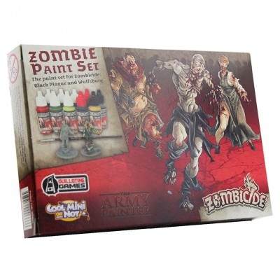Warpaints: Zombicide Black Plague Set