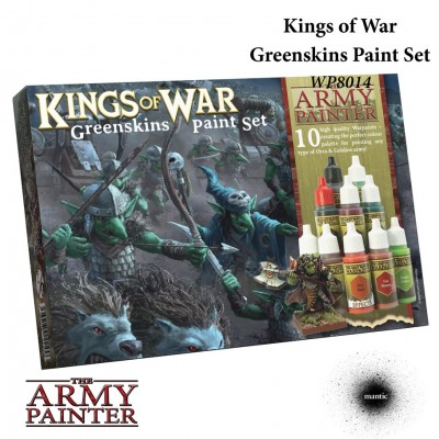 Warpaints: Kings of War: Greenskins