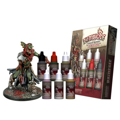 Warpaints: Zombicide Green Horde Set