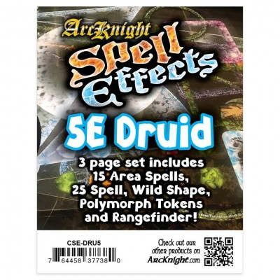 5E: Spell Effects: Druid
