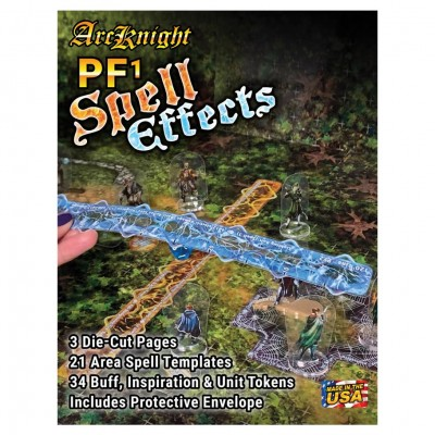 Arcknight PF1 Spell Effects