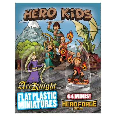 Flat Plastic Mini: Hero Kids