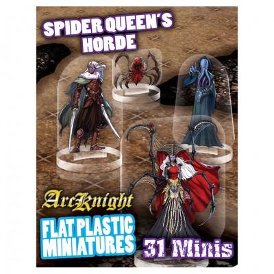 Flat Plastic Minis: Spider Queen's Horde