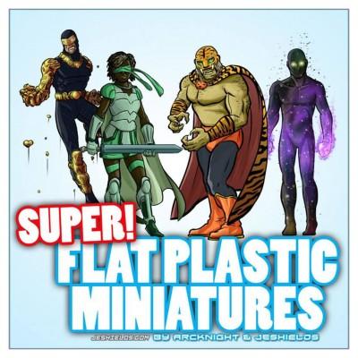 Flat Plastic Mini: Supers!