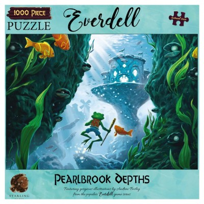 Puzzle:Everdell:Pearlbrook Depths 1000pc