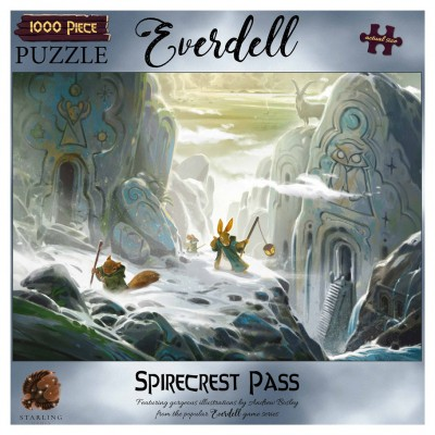 Puzzle: Everdell: Spirecrest Pass 1000pc