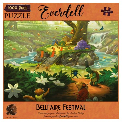 Puzzle:Everdell:Bellfaire Festival1000pc