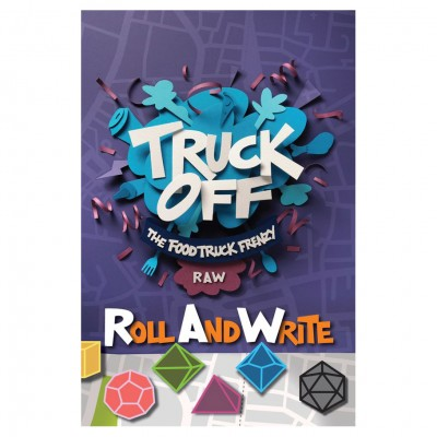 Truck Off: Food Truck Frenzy: Roll&Write