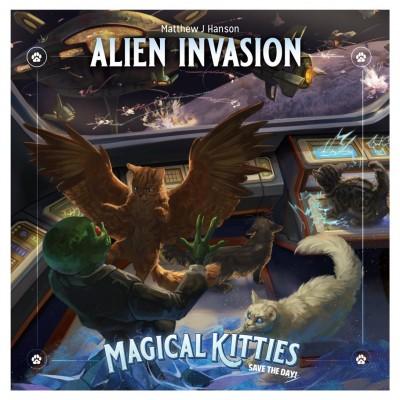 Magical Kitties: Alien Invasion