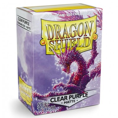 DP: Dragon Shield: Matte Clear: BU (100)