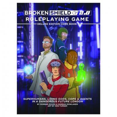 Broken Shield: Deluxe Ed Core Book (HC)