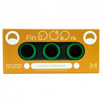 FinGears: Medium Green-Black