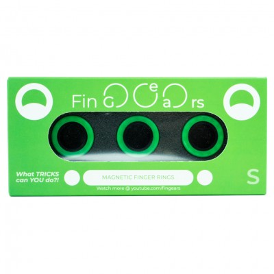FinGears: Small Green-Black