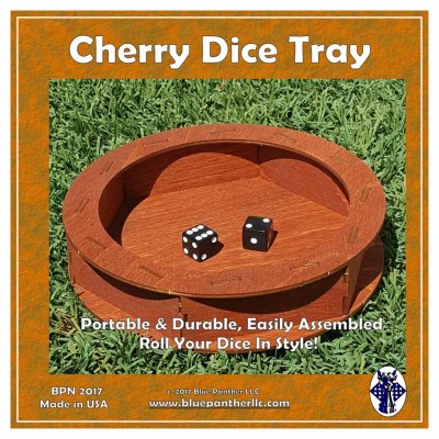Cherry Dice Tray