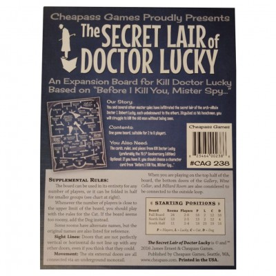 Doctor Lucky: Secret Lair