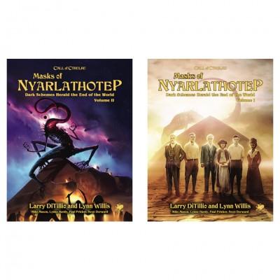 CoC: Masks Of Nyarlathotep Slipcase Set