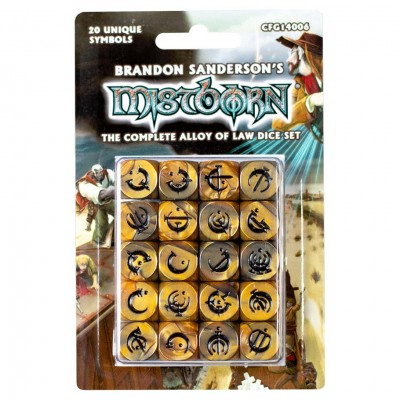 Dice: Mistborn Alloy of Law Complete Set