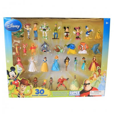 Disney Figurine 30 Pack Super Assortment
