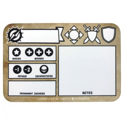 SW: Dry Erase Tracker Boards