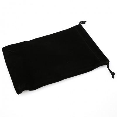 Dice Bag: LG Suede Cloth BK