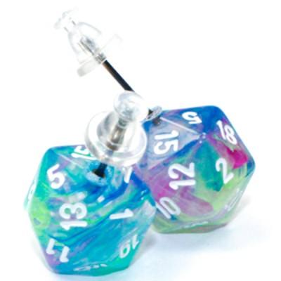 Stud Earrings FST Waterlilly Mini d20