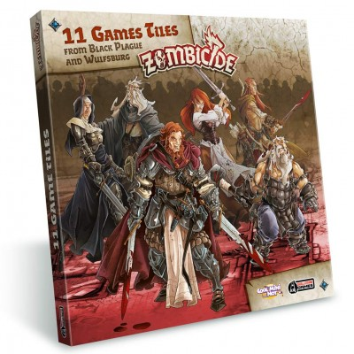Zombicide: BP: Extra Tiles Pack