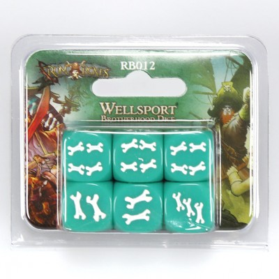 R&B: Wellsport Brotherhood Dice (6)