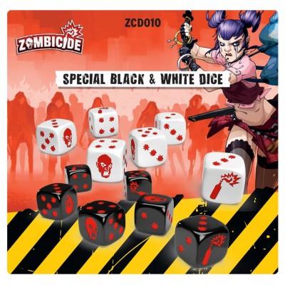 Zombicide 2E: Special Black & White Dice