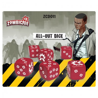 Zombicide 2E: All-Out Dice Pack