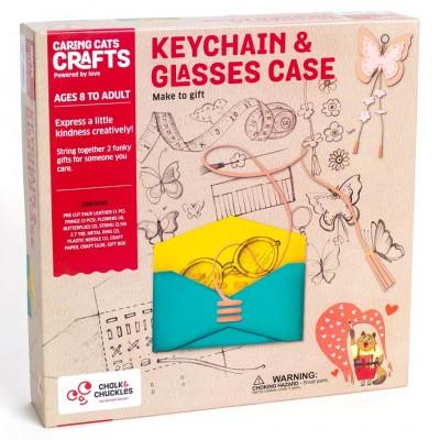 Keychain & Glasses Case