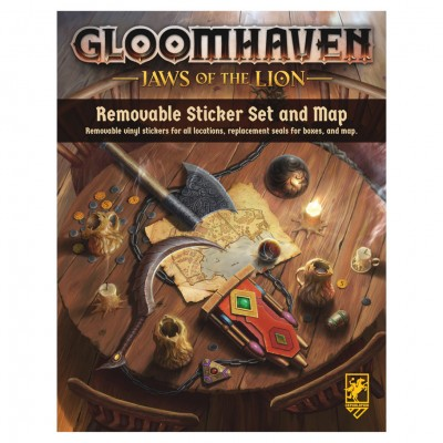 Gloomhaven: JotL: Rem. Sticker Set & Map