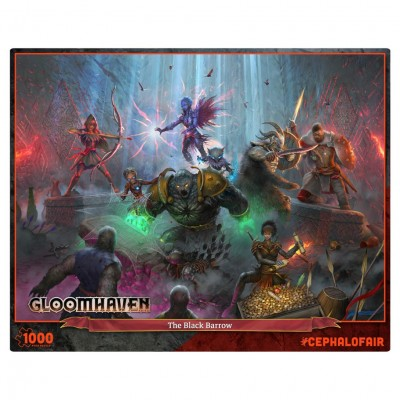 Puzzle: Gloomhaven: Black Barrow 1000pc