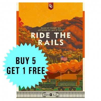 Ride the Rails: Buy 5 Get One Free
