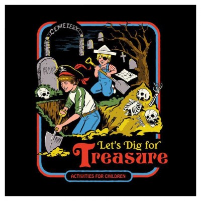 Steven Rhodes: Let's Dig for Treasure