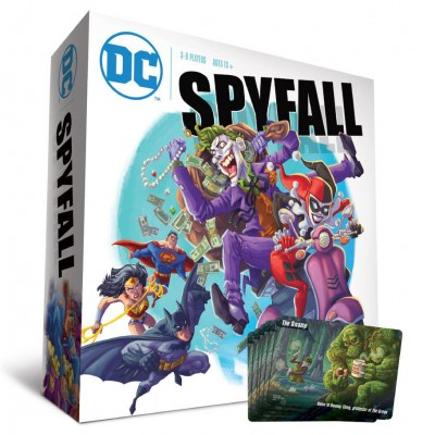 DC Spyfall Launch Kit with Swamp Promo