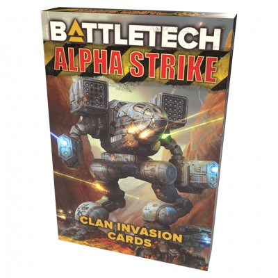 BT: Alpha Strike: Clan Invasion Cards