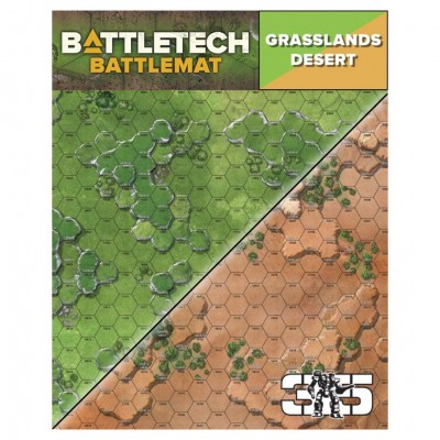 BT: Battle Mat: Grasslands Desert