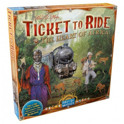 Ticket to Ride: Africa Map Collection 3