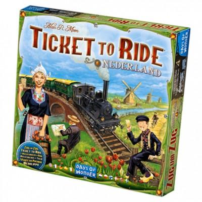 Ticket to Ride: Nederland Map Col 4