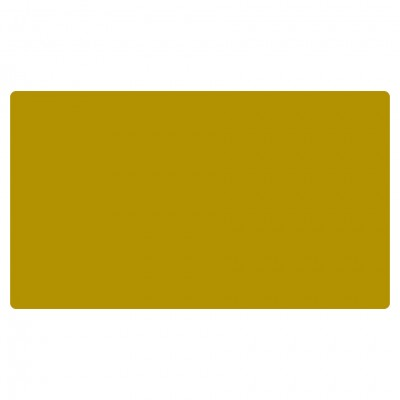 Play mat, Blank Mustard Yellow/Gold