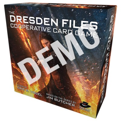 Dresden Files Cooperative Card Game Demo
