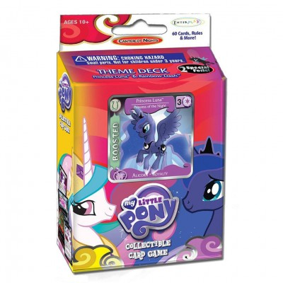 MLP CCG Canterlot Night Theme Dk Display