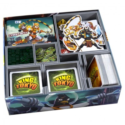 Box Insert: King of Tokyo or NY & Exps