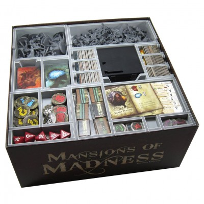 Box Insert: Mansions of Madness 2E & Exp