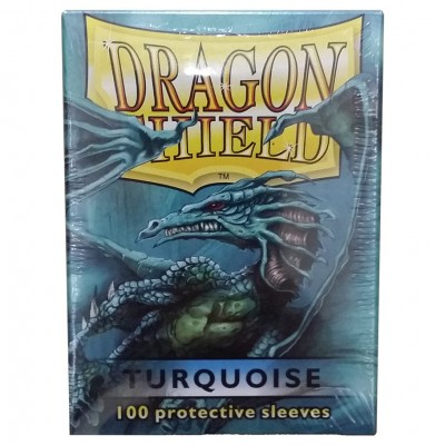 DP: Dragon Shield: Turquoise (100)