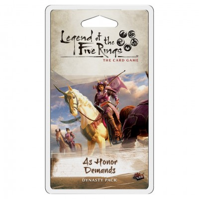 L5R LCG: As Honor Demands Dynasty Pack